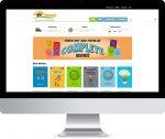 Burrabooks Online Store- e-commerce design & development