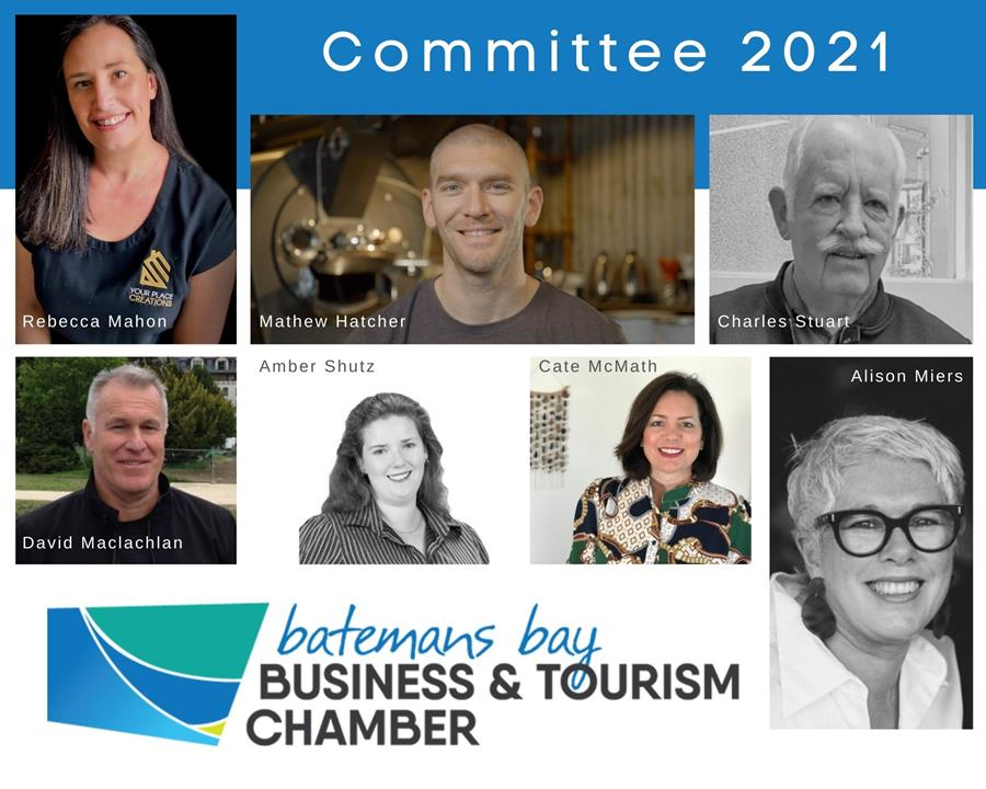 Batemans Bay Chamber Committee 2021